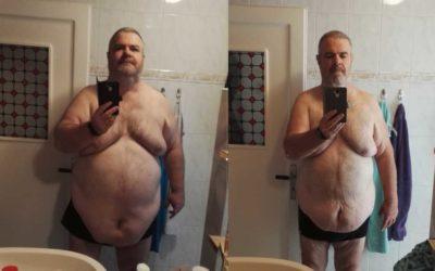 1 Jahr Kalorien zählen – 58 kg weniger Gewicht !!!